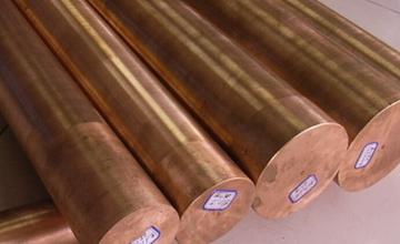 Круг бронзовый 140 БрАЖ9-4 1 м