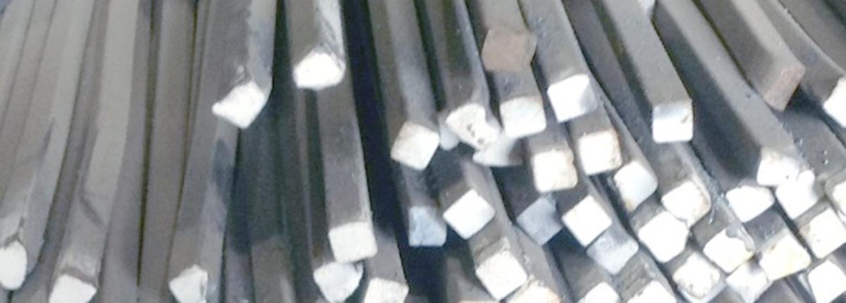 Квадрат стальной 40 Ст3пс 3,6 м