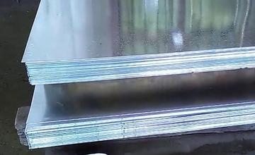 Лист оцинкованный 0,55х1000х2000 холоднокатаный Ст08пс