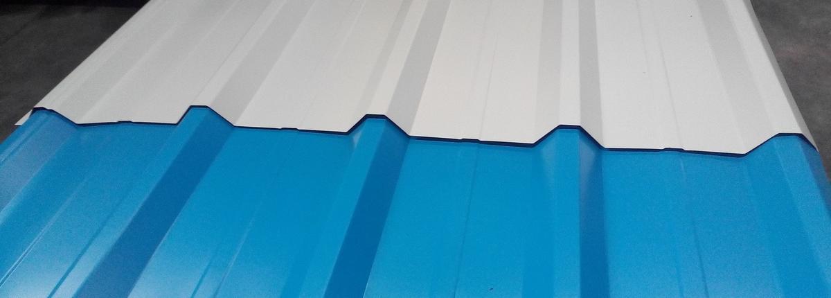 Профлист с полимерным покрытием C21-1000 0,35х1054