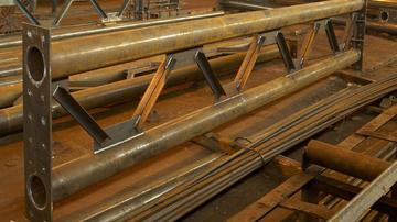 Рамные металлоконструкции